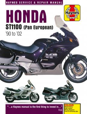 Honda ST1100 Pan European V-Fours (90 - 02) Haynes Repair Manual