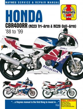 Honda CBR400RR Fours (88 - 99) Haynes Repair Manual