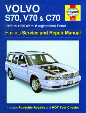 Volvo S70, V70 & C70 Petrol (96 - 99) Haynes Repair Manual