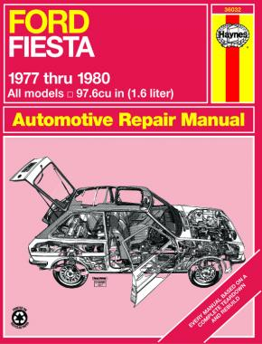 Ford Fiesta (1977-1980) Haynes Repair Manual (USA)