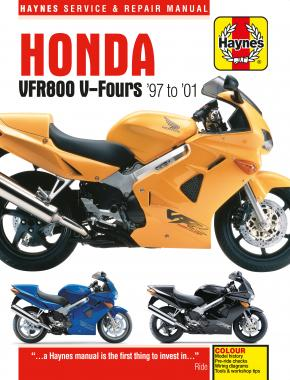 Honda VFR800 V-Fours (97 - 01) Haynes Repair Manual