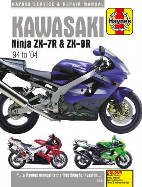 Kawasaki Ninja ZX-7R & ZX-9R (94 - 04) Haynes Repair Manual