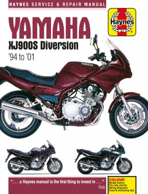 Yamaha XJ900S Diversion (94 - 01) Haynes Repair Manual