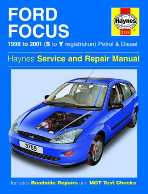 Ford Focus Petrol & Diesel (98 - 01) Haynes Repair Manual