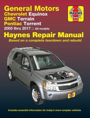Chevrolet Equinox & Pontiac Torrent (2005-2017) Haynes Repair Manual (USA)