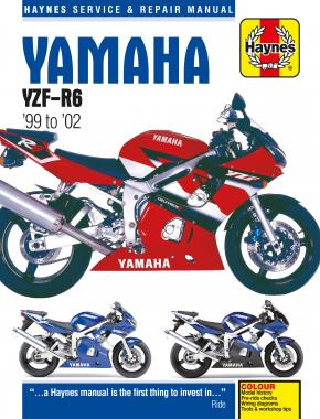 Yamaha YZF-R6 (99 - 02) Haynes Repair Manual