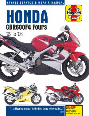 Honda CBR600F4 (99 - 06) Haynes Repair Manual