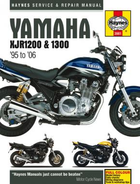 Yamaha XJR1200 & XJR1300 (95 - 06) Haynes Repair Manual