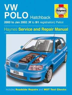 VW Polo Hatchback Petrol (00 - Jan 02) Haynes Repair Manual
