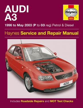 Audi A3 Petrol & Diesel (96 - May 03) Haynes Repair Manual