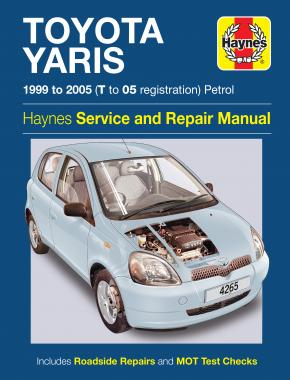 Toyota Yaris Petrol (99 - 05) Haynes Repair Manual