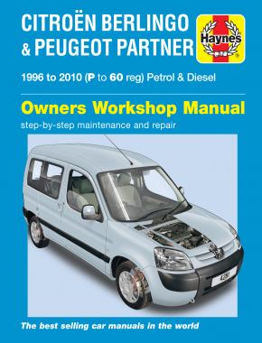 Citroen Berlingo & Peugeot Partner Petrol & Diesel (96 - 10) Haynes Repair Manual