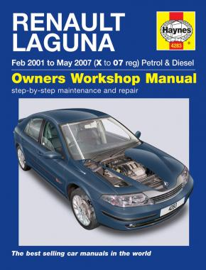 Renault Laguna Petrol & Diesel (Feb 01 - May 07) Haynes Repair Manual
