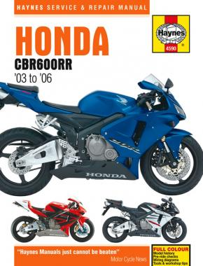 Honda CBR600RR (03 - 06) Haynes Repair Manual