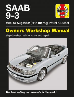 Saab 9-3 Petrol & Diesel (98 - Aug 02) Haynes Repair Manual
