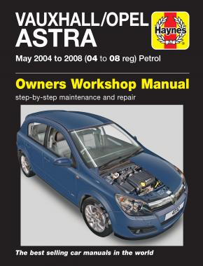 Vauxhall/Opel Astra Petrol (May 04 - 08) Haynes Repair Manual