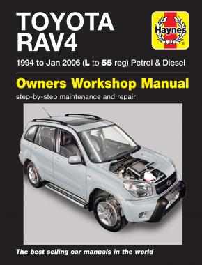 Toyota RAV4 Petrol & Diesel (94 - Jan 06) Haynes Repair Manual