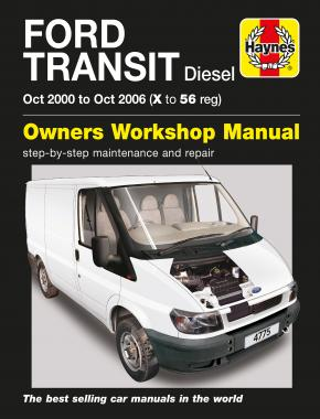 Ford Transit Diesel (Oct 00 - Oct 06) Haynes Repair Manual