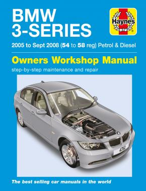 BMW 3-Series Petrol & Diesel (05 - Sept 08) Haynes Repair Manual
