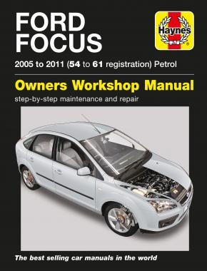 Ford Focus Petrol (05 - 11) 54 to 61 Haynes Repair Manual