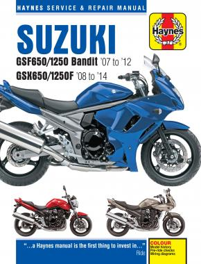 Suzuki GSF650/1250 Bandit & GSX650/1250F (07-14) Haynes Repair Manual