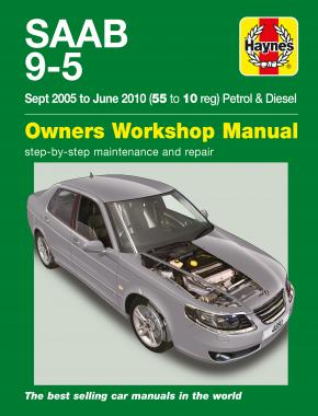 Saab 9-5 (Sep 05 - Jun 10) Haynes Repair Manual