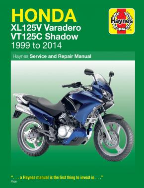 Honda XL125V & VT125C (99 - 14) Haynes Repair Manual