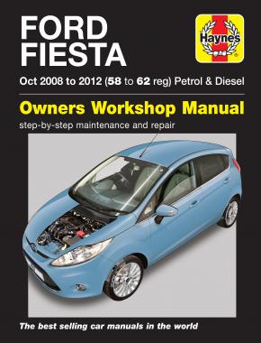 Ford Fiesta Petrol & Diesel (08 - 12) Haynes Repair Manual