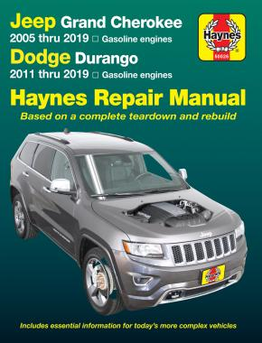 Jeep Grand Cherokee (2005-2019) Haynes Repair Manual (USA)