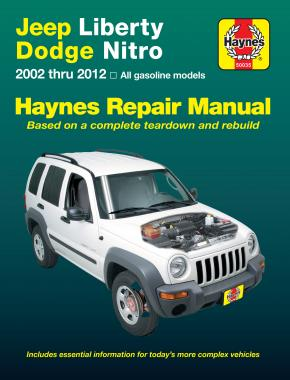 Jeep Liberty (2002-2012) Haynes Repair Manual (USA)