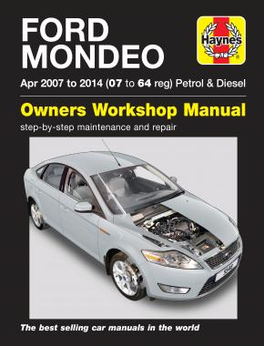 Ford Mondeo Petrol & Diesel (Apr 07 - 14) Haynes Repair Manual