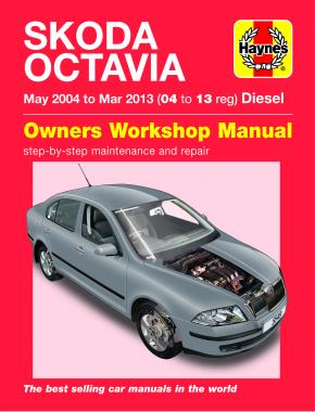 Skoda Octavia Diesel (May 04 - Mar 13) Haynes Repair Manual