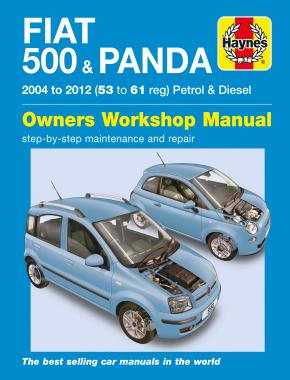 Fiat 500 & Panda (04 - 12) Haynes Repair Manual