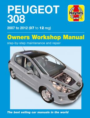 Peugeot 308 Petrol & Diesel (07 - 12) Haynes Repair Manual