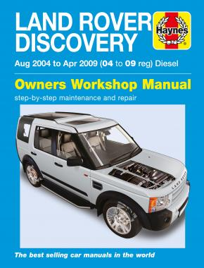 land rover discovery diesel aug 04 apr 09 haynes repair manual rh haynes com land rover discovery 1 owners manual pdf discovery 1 service manual