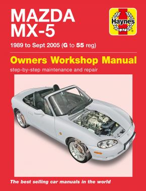 Mazda MX-5 (89 - 05) Haynes Repair Manual
