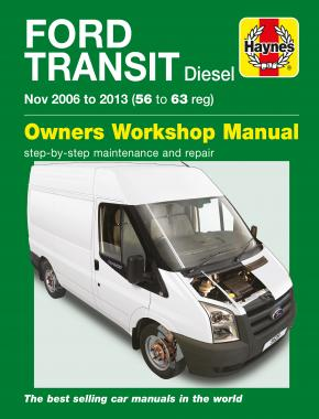 Ford Transit Diesel (06 - 13) Haynes Repair Manual