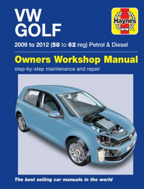 Golf Petrol & Diesel (09 - 12) Haynes Repair Manual