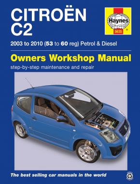 Citroen C2 Petrol & Diesel (03 - 10) Haynes Repair Manual