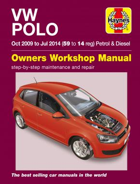 VW Polo (09 - 14) Haynes Repair Manual