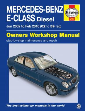 Mercedes-Benz E-Class Diesel (02 to 10) Haynes Repair Manual