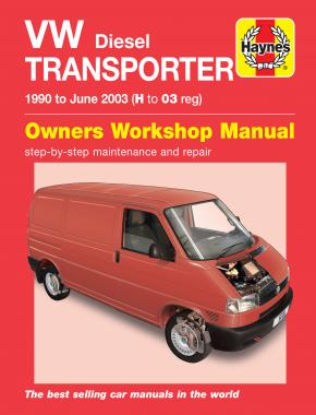 VW T4 Transporter Diesel (90 - June 03) Haynes Repair Manual