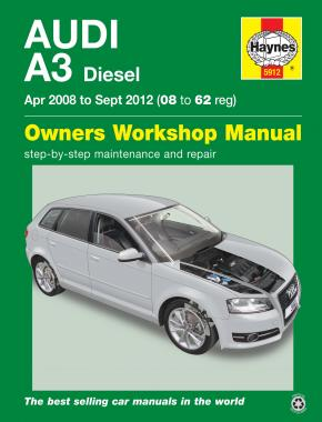 Audi A3 Diesel (Apr 08 - Sept 12) 08 to 62