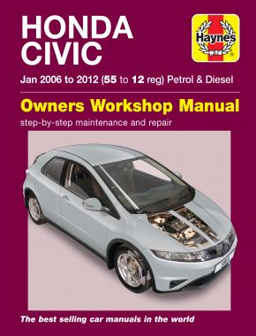 Honda Civic (Jan 06 - 12) Haynes Repair Manual