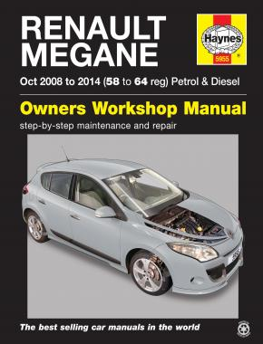 Renault Megane 08 14 Haynes Repair Manual Haynes Publishing