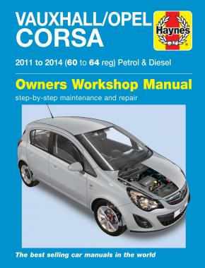 Vauxhall/Opel Corsa petrol & diesel (11-14) 60 to 64 Haynes Repair Manual