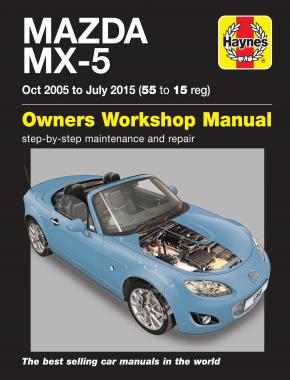Mazda MX-5 (Oct 05 - July 15) 55 to 15 Haynes Repair Manual