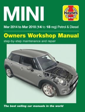 Mini Petrol & Diesel (Mar '14 - '18) Haynes Repair Manual