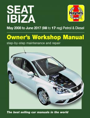 Seat Ibiza May 08 - June 17 Haynes Repair Manual