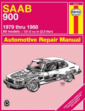 SAAB 900 Sedan & Turbo (1979-1988) Haynes Repair Manual (USA)